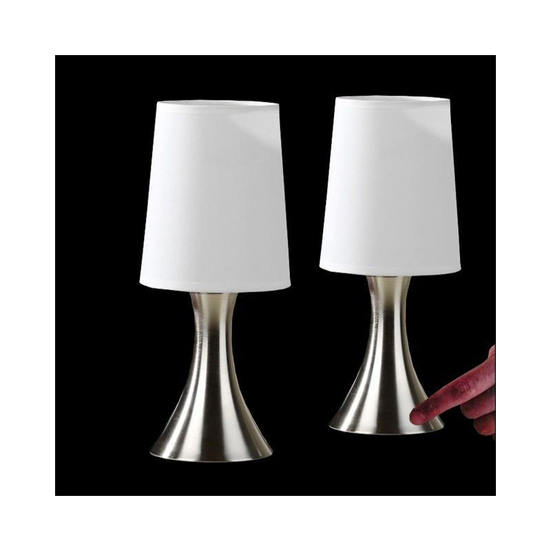 2er set touchlampe touch dimmer tischleuchte. Black Bedroom Furniture Sets. Home Design Ideas