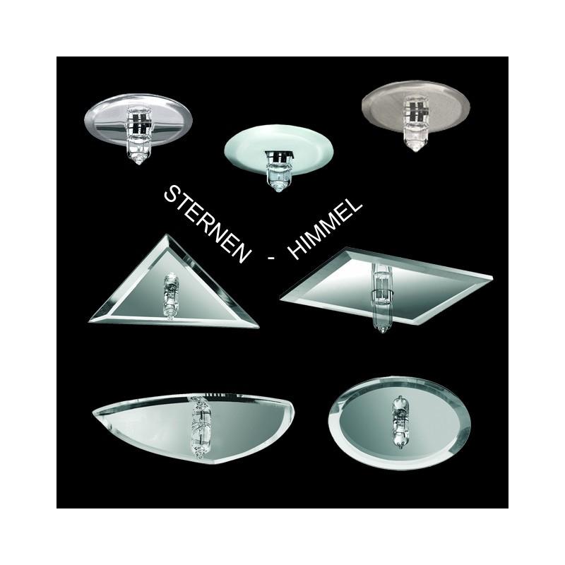 halogen effekt einbauleuchten sternenhimmel akzent sterne lichtpunkte. Black Bedroom Furniture Sets. Home Design Ideas
