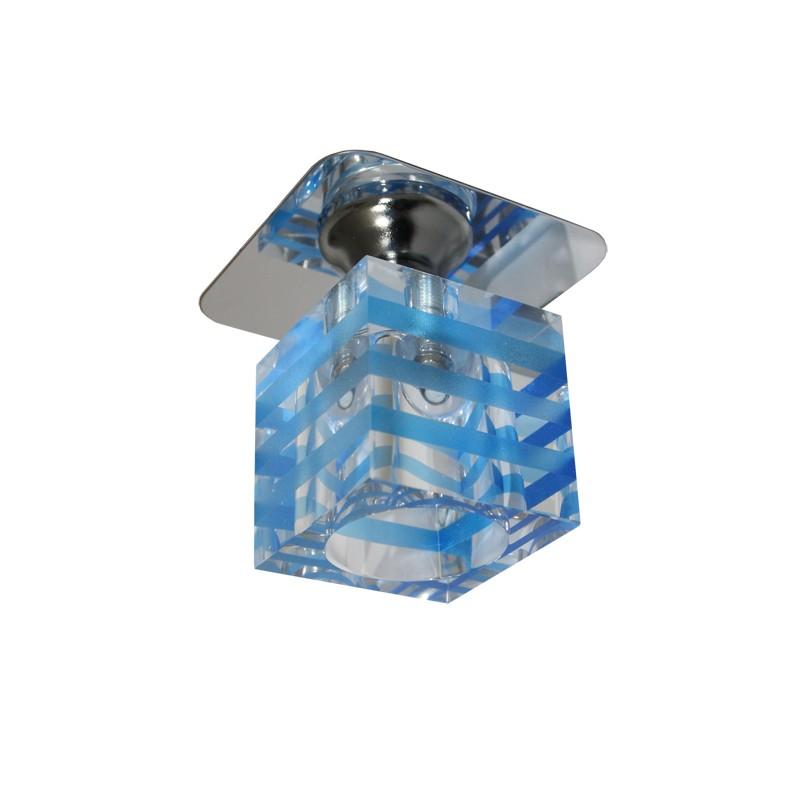 kristall spot einbaustrahler crystal einbauleuchten deckenleuchte kl. Black Bedroom Furniture Sets. Home Design Ideas
