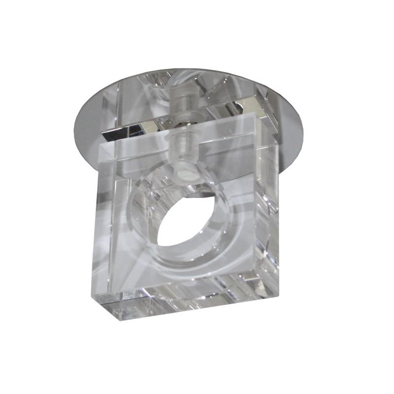 kristall spot crystal einbaustrahler einbauleuchten deckenleuchte kla. Black Bedroom Furniture Sets. Home Design Ideas