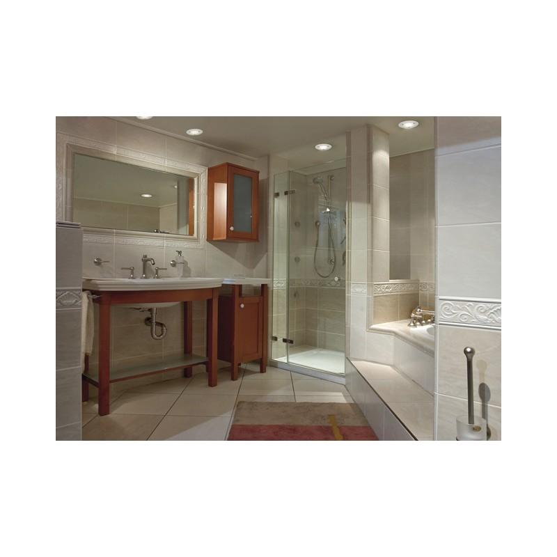 Paulmann glas satin einbauleuchten feuchtraumlampen badezimmer strahl - Glas im badezimmer ...