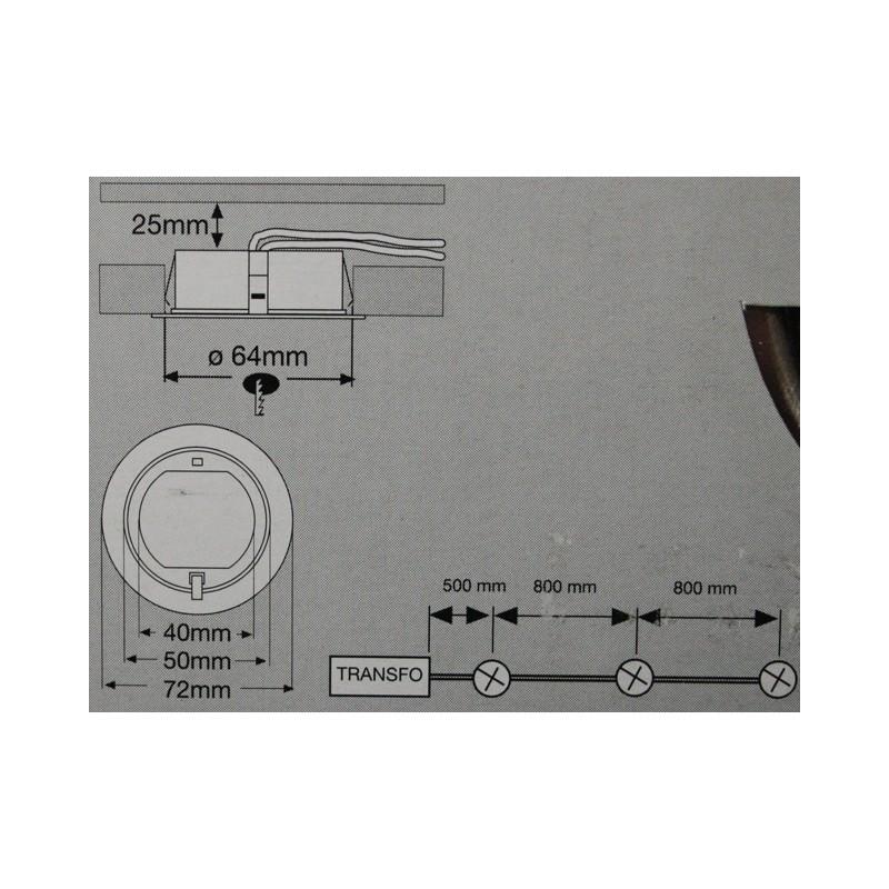 paulmann micro line 25mm einbautiefe m bel einbauleuchten. Black Bedroom Furniture Sets. Home Design Ideas