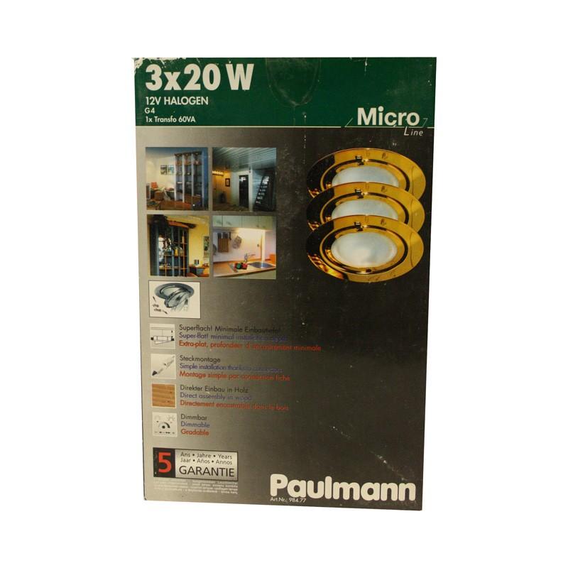 paulmann micro line m bel einbauleuchten klipp klapp strahler sp. Black Bedroom Furniture Sets. Home Design Ideas