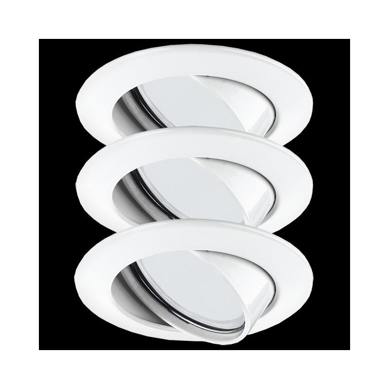 paulmann premium aluminium einbauleuchten bad feuchtraum 3x11w 230v w. Black Bedroom Furniture Sets. Home Design Ideas