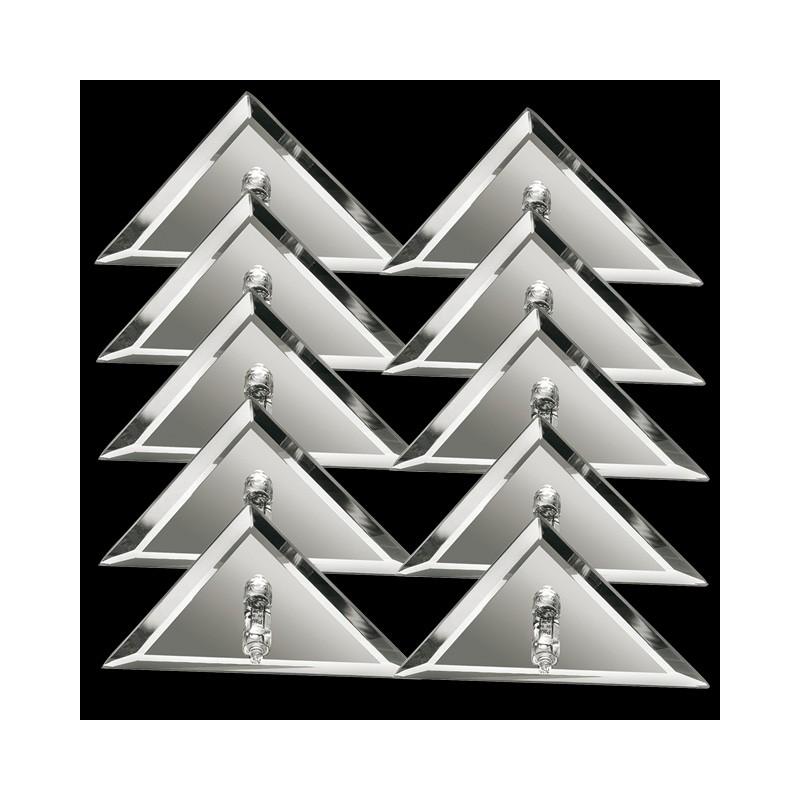 paulmann starline einbauleuchten sternenhimmel 10x10w halogen dreiec. Black Bedroom Furniture Sets. Home Design Ideas