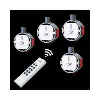 HOME EASY 4 x FUNKDIMMER + FB Funkschalter dimmbar...