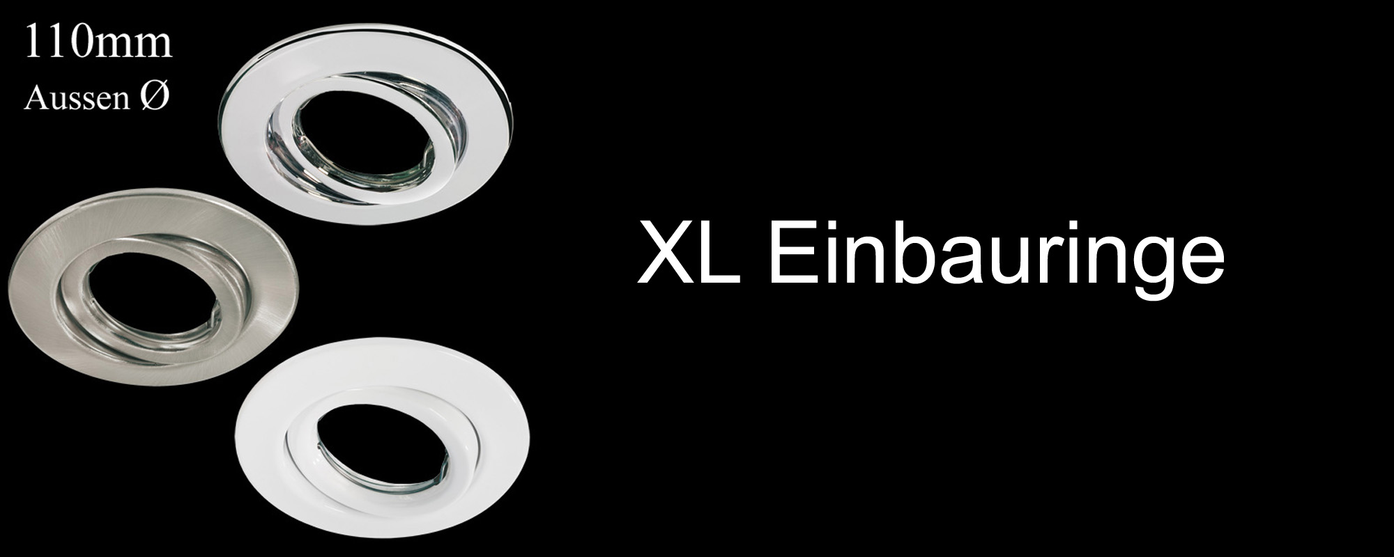 XL Einbauringe
