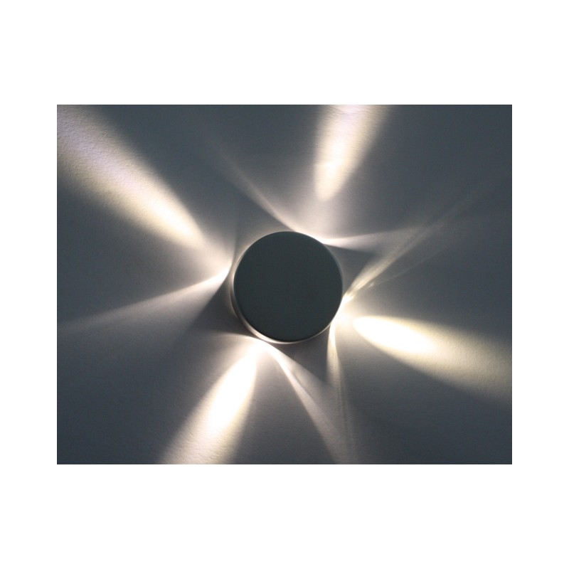 3er Set Mini Led Sternenhimmel Alu Einbauleuchten Aufbauleuchten