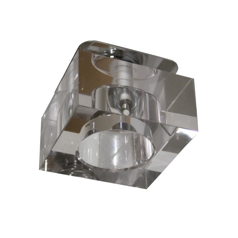 Kristall Spot Crystal Einbaustrahler Einbauleuchten Deckenleuchte Gla