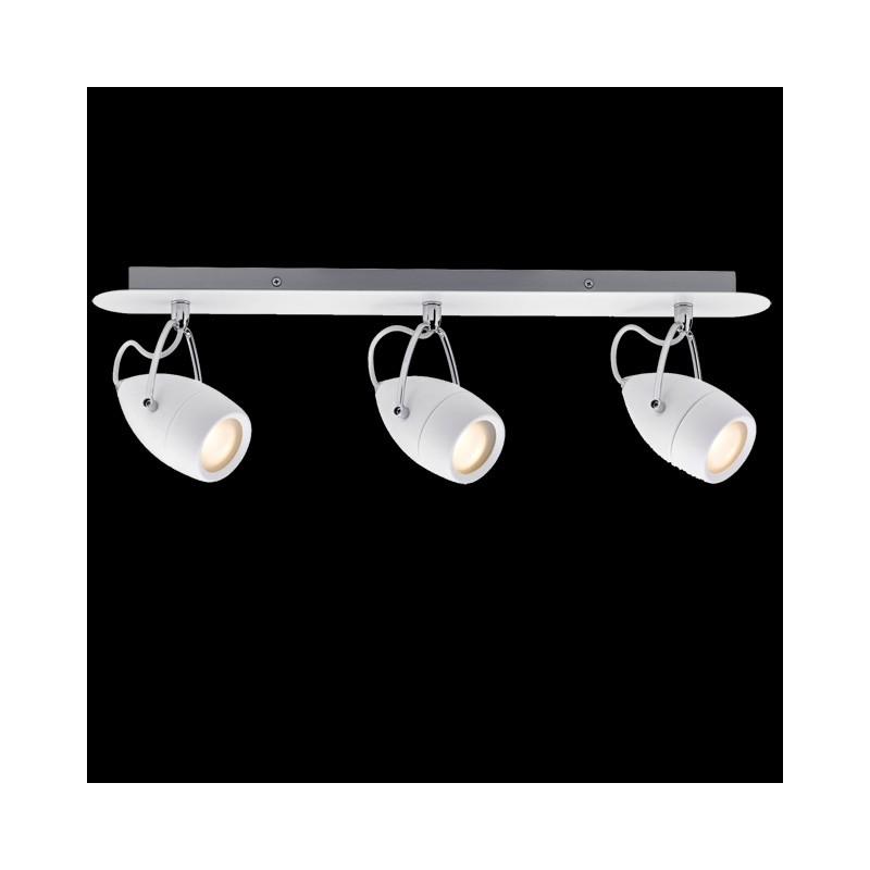 Paulmann 603.41 LED Balkenspot Lampe Strahler Badezimmer 3x3,5W Drop