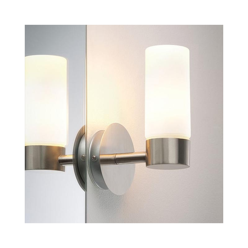 Spiegelleuchte Glas SATIN 703.53 ELEON Wandleuchte Spiegellampe Wandl