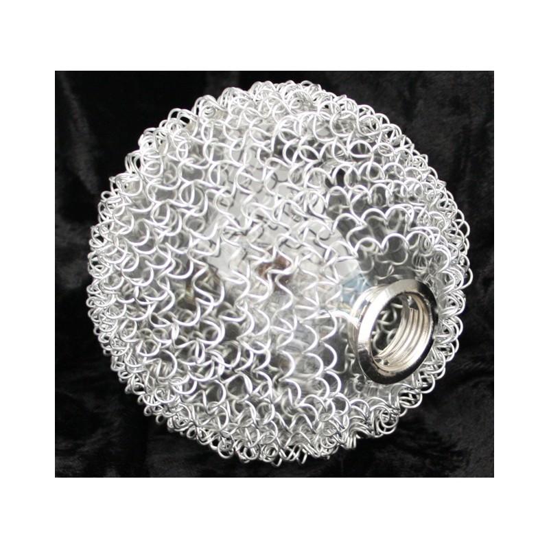 Wofi ERSATZGLAS 6452 DRAHTKUGEL ARC SERIE G9 LAMPE Glas Schirm LAMPEN