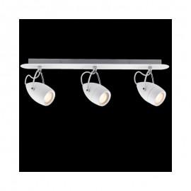 Paulmann 603.41 LED Balkenspot Lampe Strahler Badezimmer 3x3,5W Drop IP44  Balken 230V Weiß Chrom