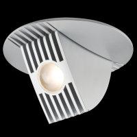 Paulmann Einbauleuchten Kippbar1er Set BOW 5W LED, Chrom matt 925.10 - 92510