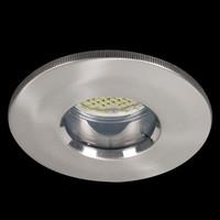 1 x 3,5W LED Aluminium Einbau Spots Eisen gebürstet...