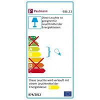 Paulmann 986.33, 3x6Watt  GX53 Einbauleuchten-Set Quality...