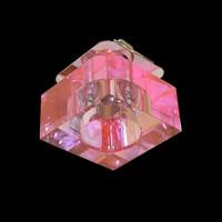 Glaswürfel Einbauleuchte ROSA Mädchenzimmer...