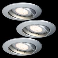 Paulmann 925.16  LED, Einbauleuchten, 3er-Set, Premium...