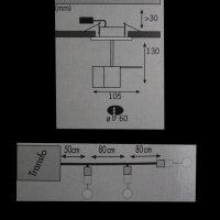 Paulmann 937.02 Halogen Einbauleuchten-Set, Deco Line,...