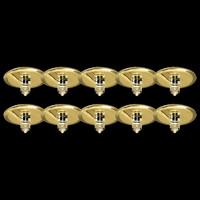 Sternenhimmel Einbauleuchten GOLD 10x10W  Einbaustrahler...