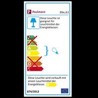 Paulmann 994.63 IP65 Strahlwasser geschützte...