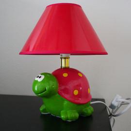 Kinder Tischleuchte SCHILDKRÖTE 230V E14 Tischlampe Nachttischlampe