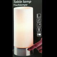 Lampenfuß Touchlampe Dimmer Eisen gebürstet...
