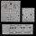 Paulmann 980.74 DECO Einbauleuchten CARRE CRISTAL Einbaustrahler 3x35W 98074