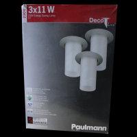 Paulmann 985.01  Einbauleuchten DekoPipe 230V...