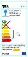 Schienensystem Halogen 5er Spot Deckenlampe 5x20W...