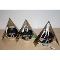 CARESSI dimmbar LED Möbel Aufbauleuchten Triangel...
