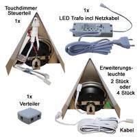 Arbeitsplattenbeleuchtung dimmbar LED Möbel...