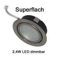 2,4W LED Möbellampen Möbel Einbaustrahler...