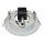 986.35 Einbauleuchten XL 110mm Einbaustrahler GX53 Weiß 230V