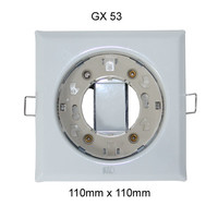 Paulmann Einbaulampe Einbauring GX53 Einbaustrahler 230V...