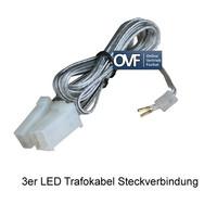 Paulmann LED Trafokabel 12V Kabelverbindung 3er Kabelbaum...