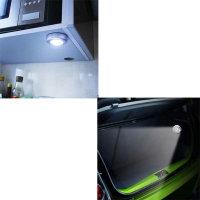 4 x LED Touchlicht WEIß mit Klebepad BATTERIEBETRIEB