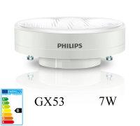 Philips Downlighter 7W Energiesparlampe GX53 Sparlampe...