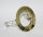 Einbauring LED Einbaurahmen Einbaustrahler Spot 79mm Ø Messing Gold