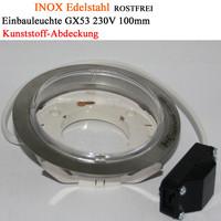 Einbauleuchte GX53 Einbaurahmen Aussenleuchte Feuchtraum...