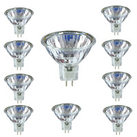 10 x Halogen Leuchtmittel Qualitäts Spot MR16 GU5.3...
