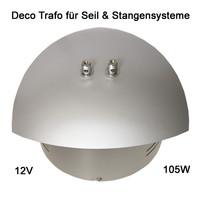 Paulmann Deko 12V Trafo 105W Seilsystem Stangensystem105VA