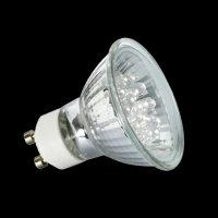 4102 Nice Price 1W LED Reflektor 230V  GU10 Warmweiß