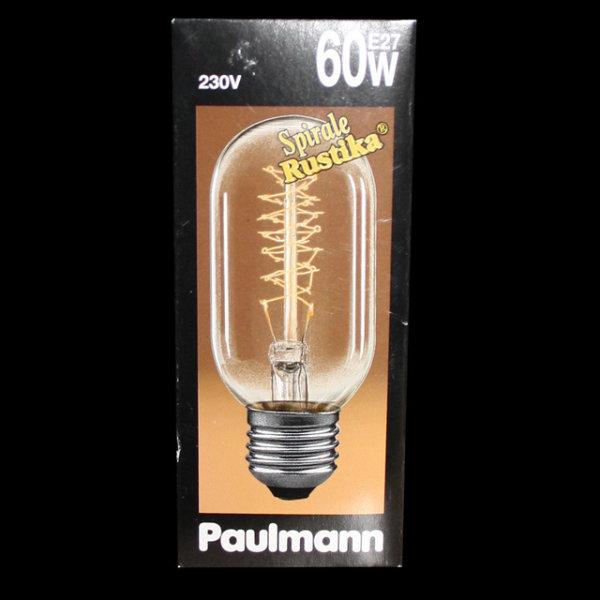 Paulmann 555.60 Glühbirne Riesen Röhre Spirale Rustika Vielfachwendel 60W E27