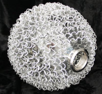 Wofi ERSATZGLAS 6452 DRAHTKUGEL ARC SERIE G9 LAMPE Glas...
