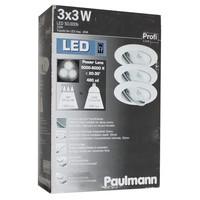 Paulmann  POWER LENS 3x3W 12V LED TAGESLICHT ALU...