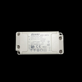 ANWAY MINI LED Trafo Driver Transformator Netzteil AW01-0007  constant 6x1W  350mA