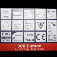 Moderne LED Unterbauleuchte Unterbau Lichtleiste...