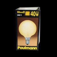 Paulmann 136.47 GLOBE Eiskristall Bernstein 60mm Ø...