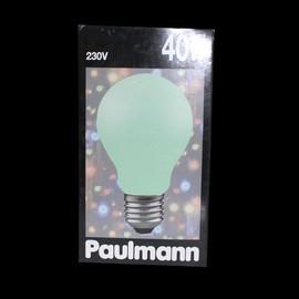 Paulmann 400.50  Glühbirne E27 40W Glühlampe 60mm softgrün Soft Grün dimmbar